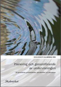 planering och genomförande av undervisningen